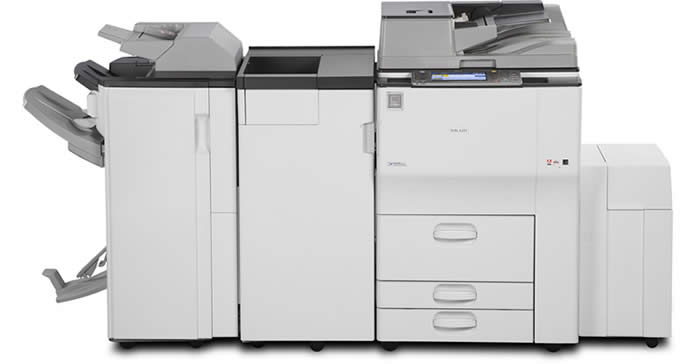 Ricoh Aficio MP 6001/7001/8001/9001 Multifunction Device - Milne Office Systems - Winnipeg Manitoba